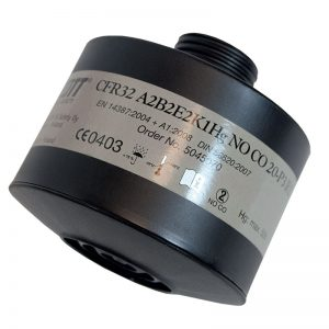 Scott ABEK2HgNOCO20P3 DIN filter