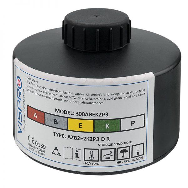Spirex ABEK2P3 DIN filter