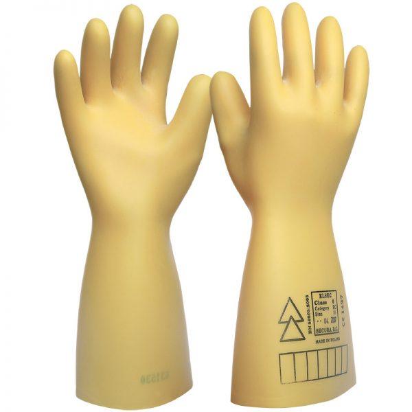 Elektroizolacione rukavice  20000 V     klasa 2