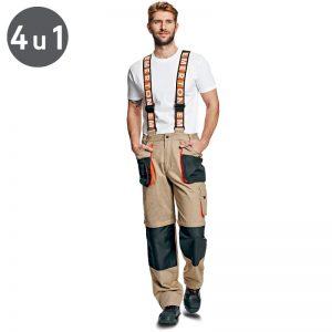 Emerton summer pantalone sa tregerima 4 u 1