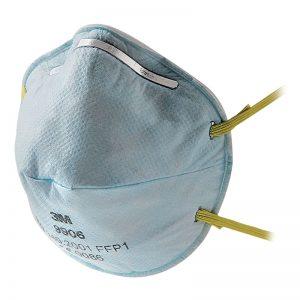 FFP1 9906 okrugla, bez ventila - za isparenja hidrogen florida