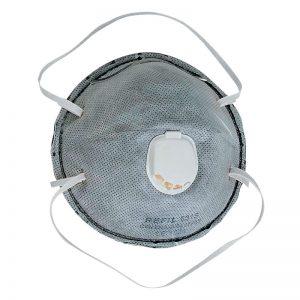 FFP2 831S okrugla, sa ventilom i aktivnim ugljem