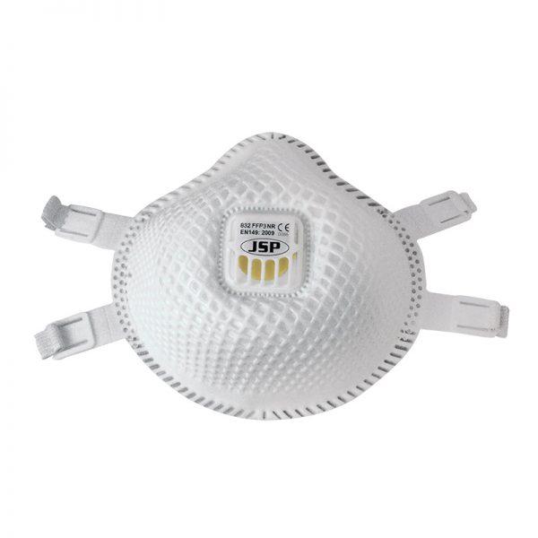 FFP3 832 okrugla, sa mrežicom i ventilom