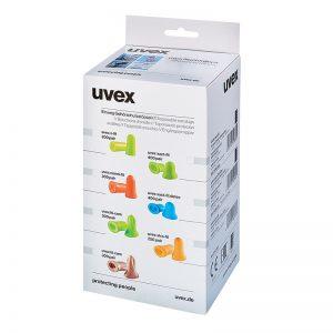 Rezervni uvex X-fit čepići za kontejner