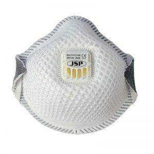 FFP2 822 okrugla, sa mrežicom i ventilom