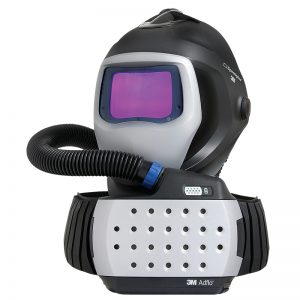 Komplet - 3M vazdušni respirator sa Adflo tehnologijom + automatska maska 3M  Speedglas  9100 AIR (sa crevom za dovod vazduha).
